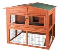 TRIXIE 2-Story Rabbit Hutch With Attic – Extra Large